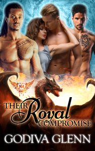 Their Royal Compromise (Otherworld Shifters #2) A Paranormal Reverse Harem Romance by Godiva Glenn, set in Milly Taiden's Paranormal Dating Agency world